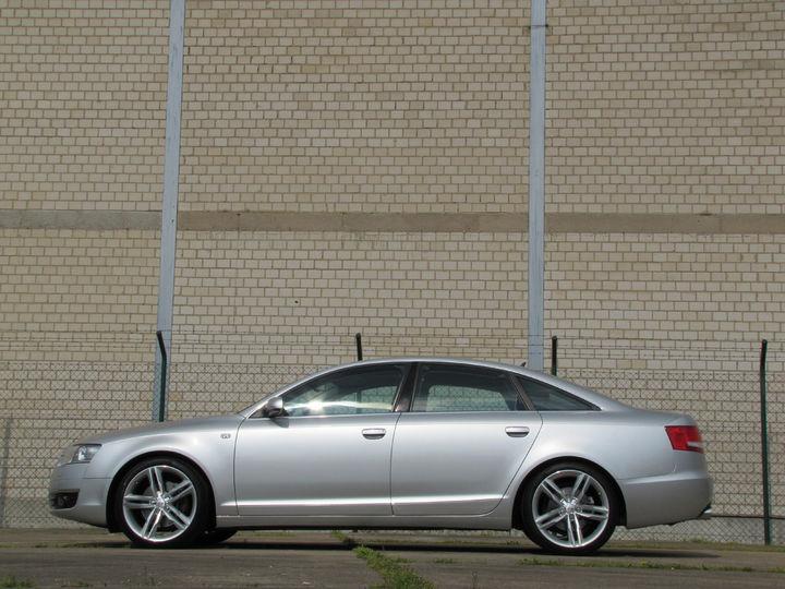 News alufelgen audi a6 limo 4f mit 19zoll felgen ls17 silber for Audi a6 breite mit spiegel