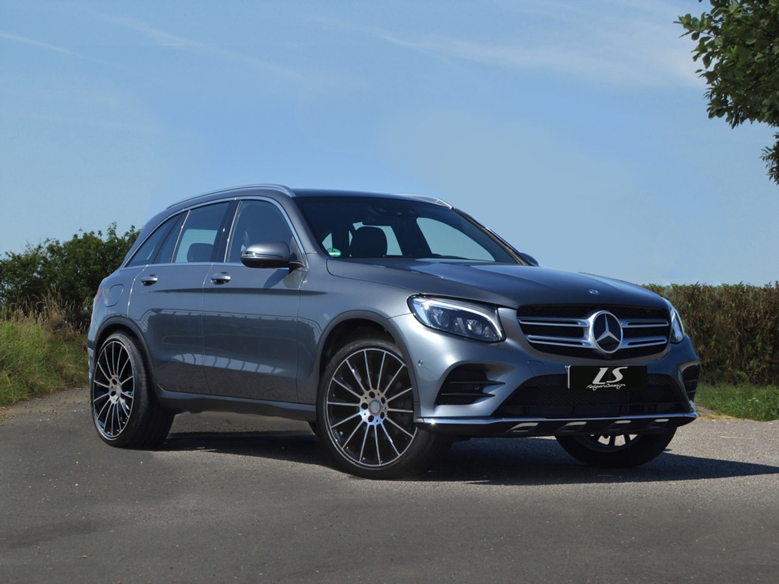 news alufelgen mercedes glc w253 204x amg 20zoll. Black Bedroom Furniture Sets. Home Design Ideas