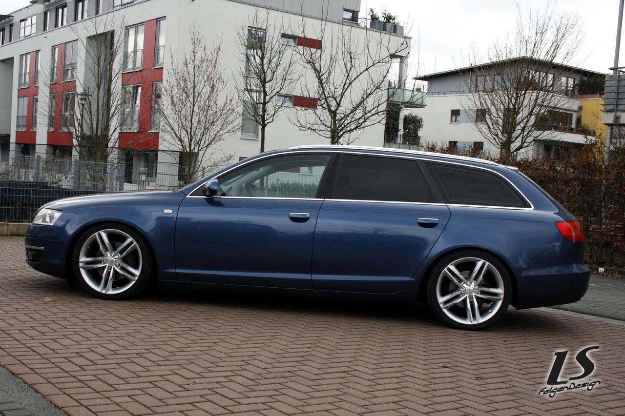 Audi a6 4f 4f1 avant 20zoll 9x20 audi s line felgen alufelgen rotor - Pin Audi A6 4f 2 4 Mit 20 Quot Felgen On Pinterest