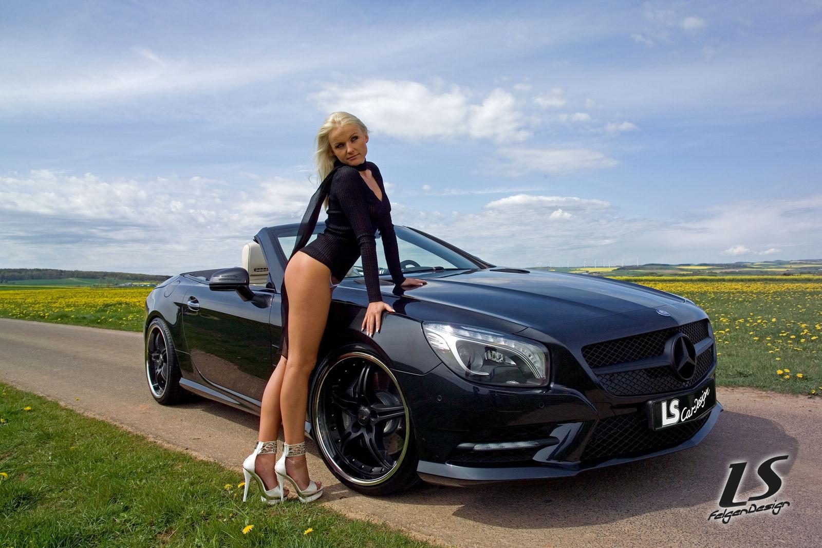 Mercedes C Klasse Alufelgen  Zoll Schwarz
