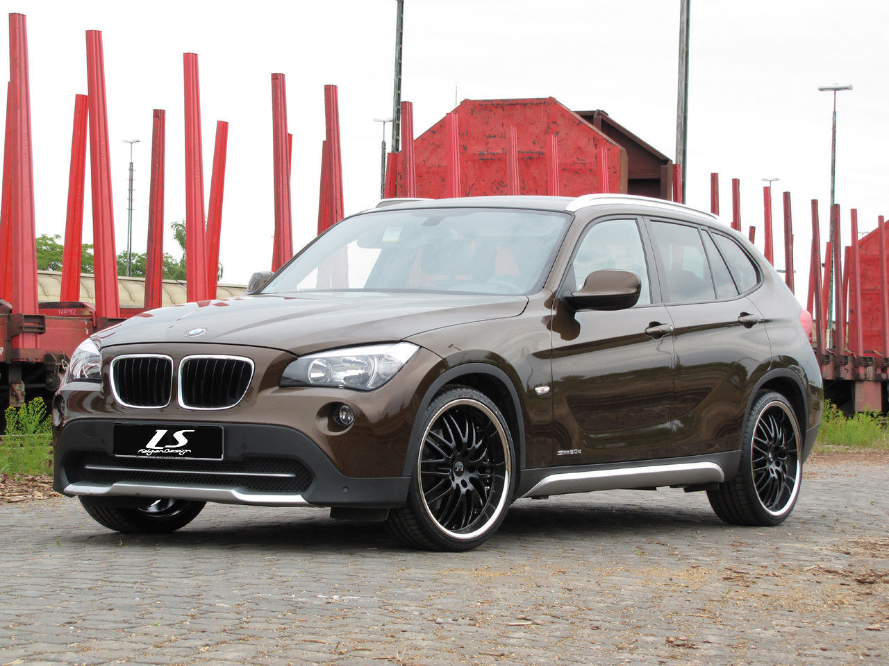news alufelgen bmw x1 mit 20 ls sport felgen. Black Bedroom Furniture Sets. Home Design Ideas