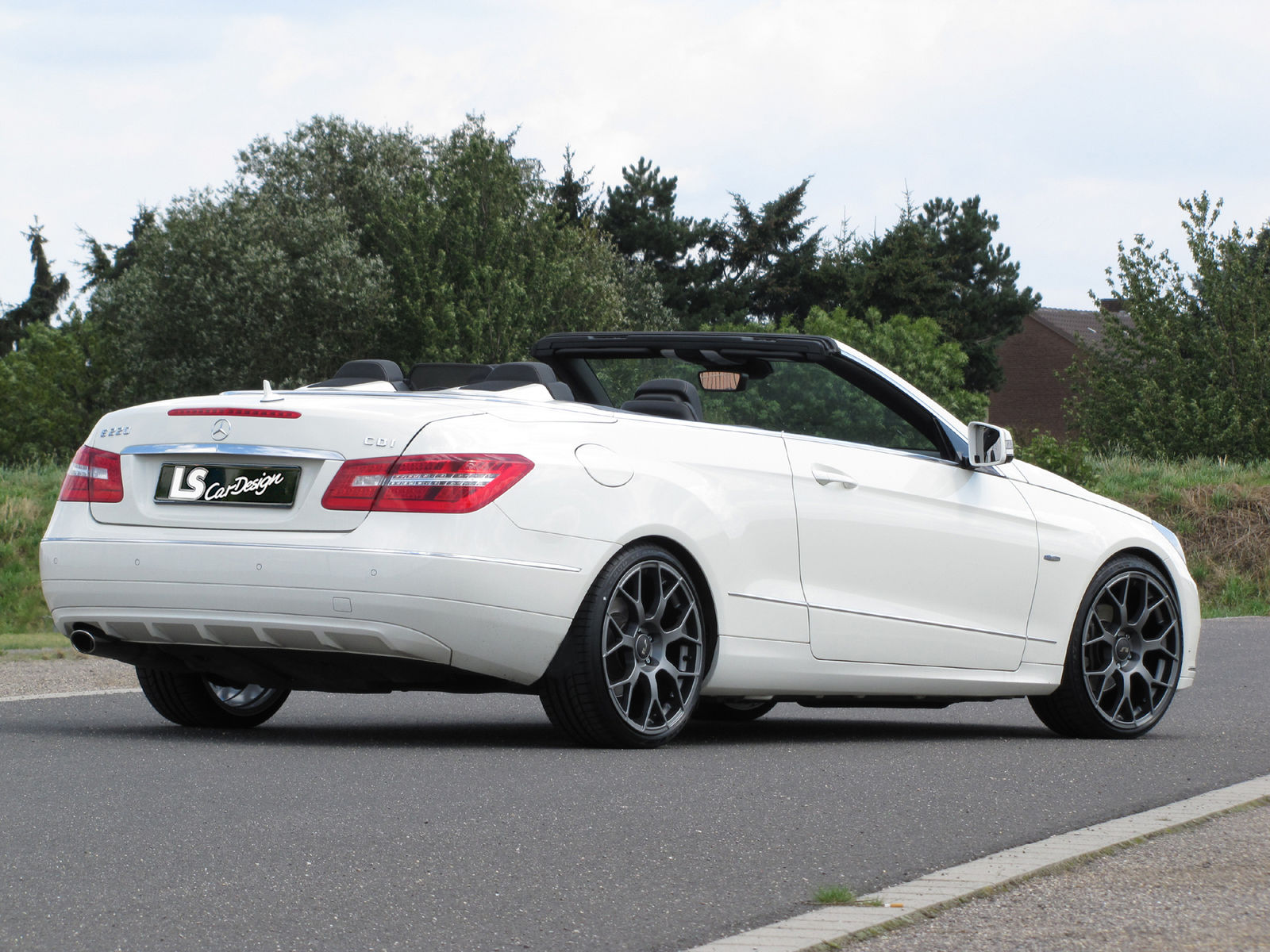 News Alufelgen Neu Mercedes E Klasse Cabrio Hinterachse 9