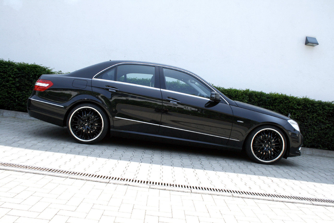 Black Mercedes C Inch Rims