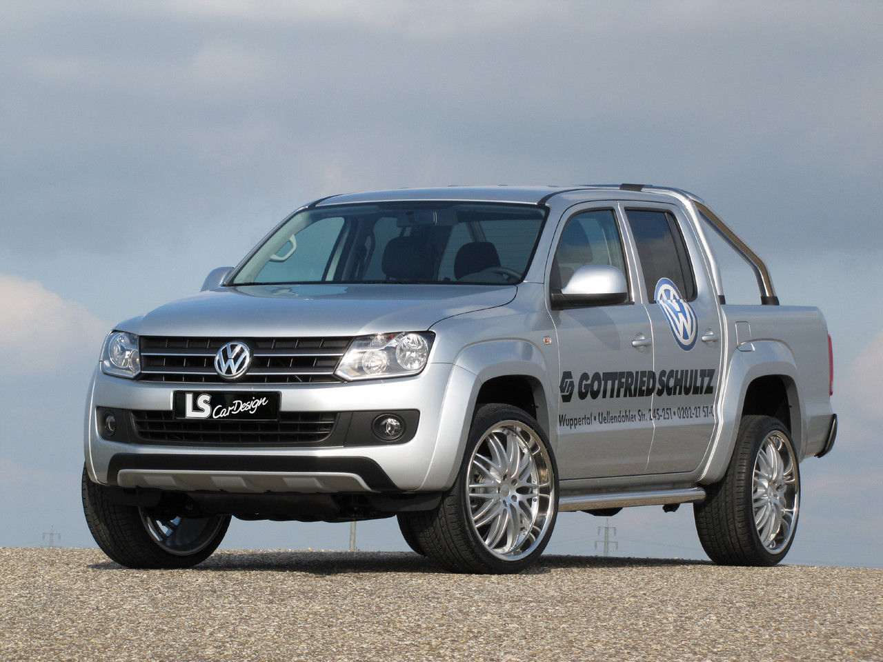 news alufelgen vw amarok mit 23zoll ls sport felgen 305. Black Bedroom Furniture Sets. Home Design Ideas