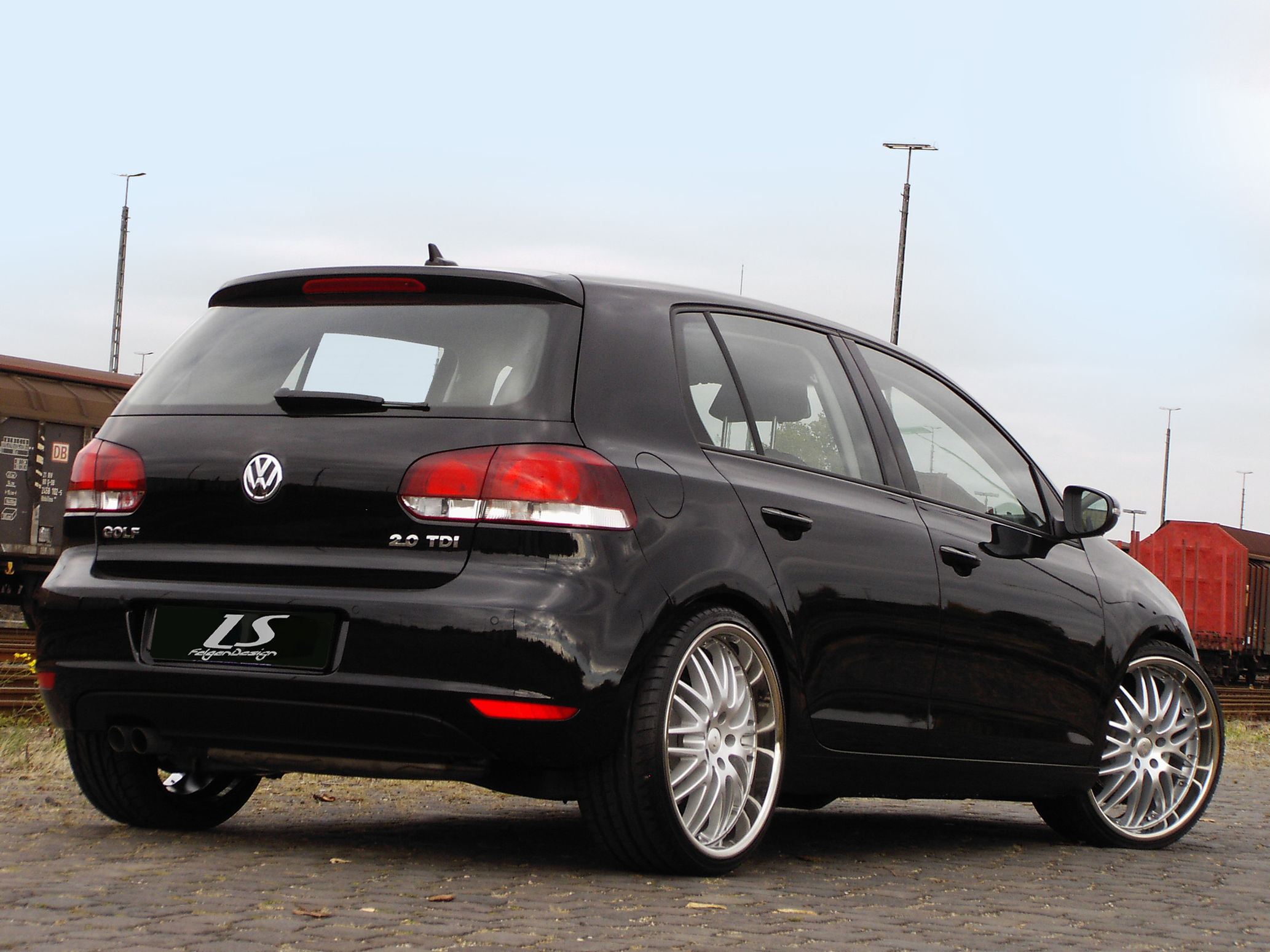 news alufelgen vw golf 6 7 mit 20zoll alufelgen. Black Bedroom Furniture Sets. Home Design Ideas
