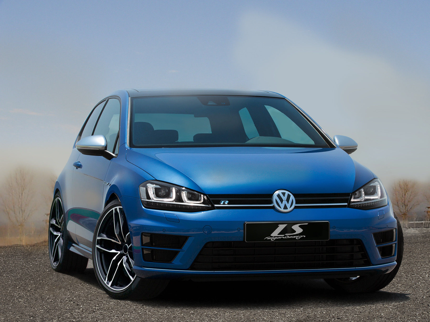 news alufelgen f r vw golf 7 r performance gti. Black Bedroom Furniture Sets. Home Design Ideas